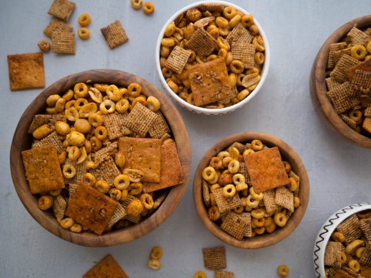 Healthy Whole Wheat Chex Mix Recipe