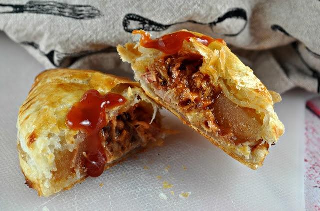 Recipe: 3-Ingredient Pulled Pork Empanadas!