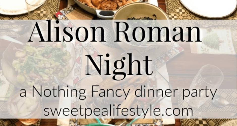 Alison Roman Night
