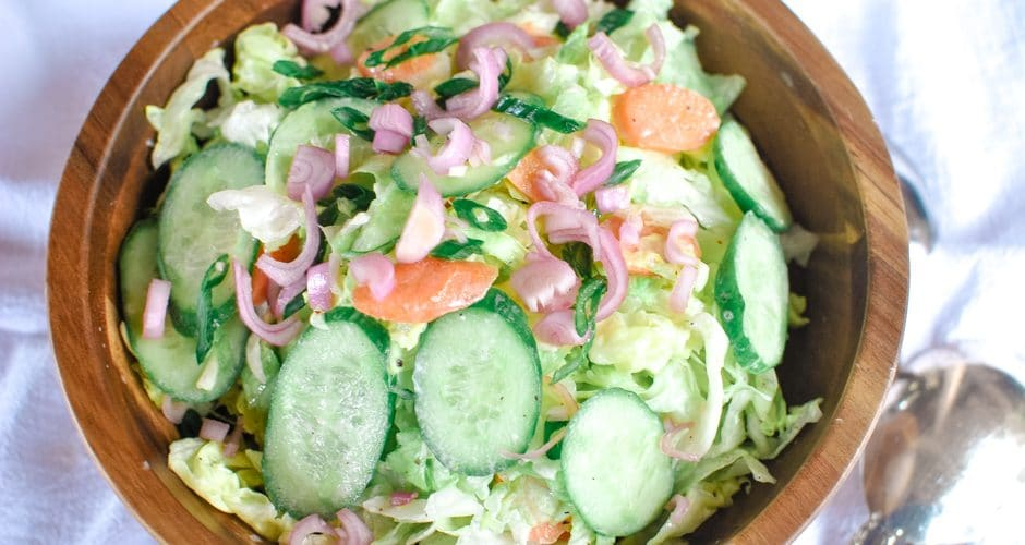 Summertime Salad Recipes