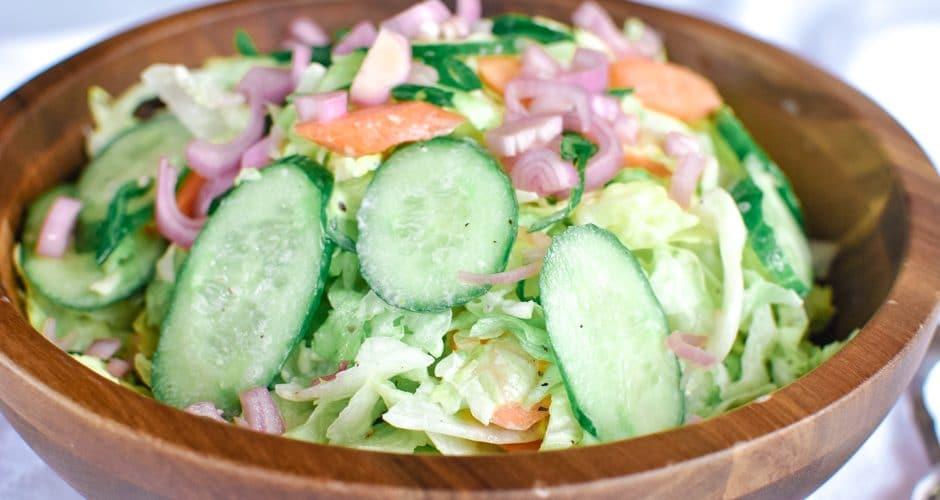 Chopped Iceberg Salad