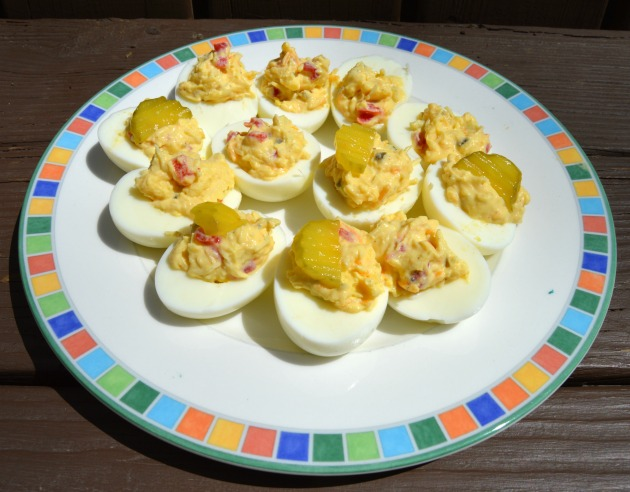 Pimento Cheese Deviled Eggs [Southern Style]