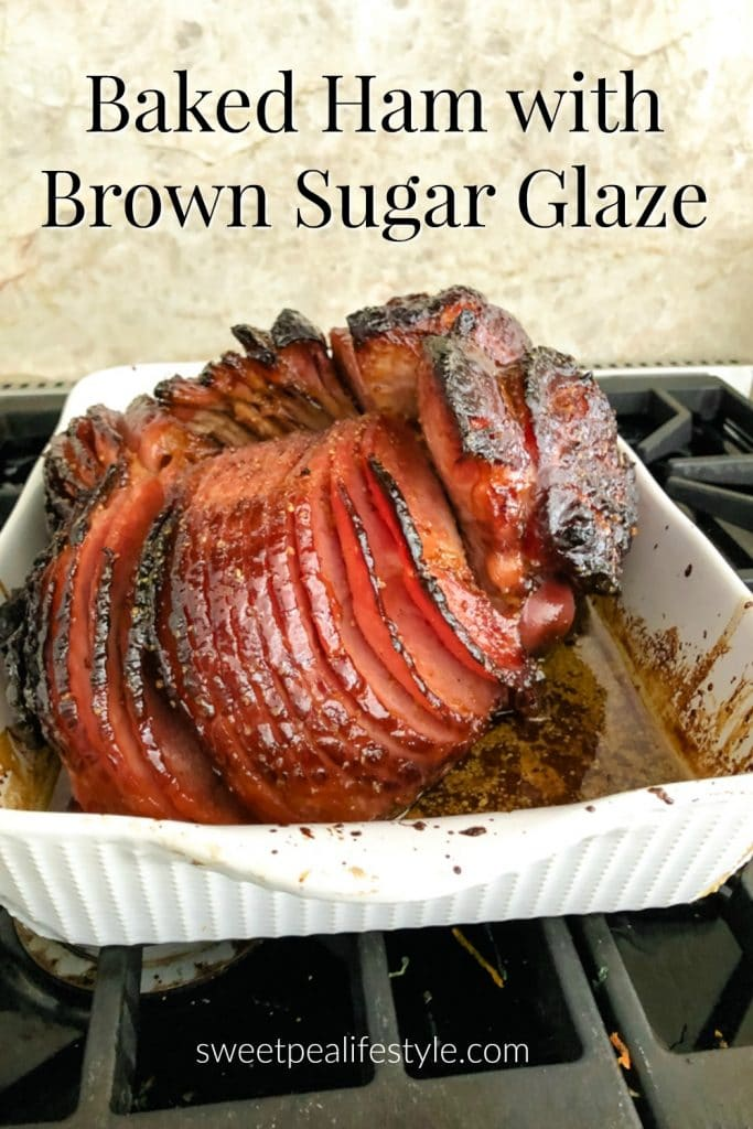 Baked Ham with Brown Sugar Glaze like Honey Baked Ham
