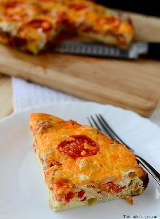 Crock Pot Spicy Bacon and Egg Breakfast Casserole Recipe