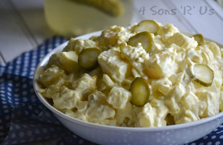 Dill Pickle Potato Salad