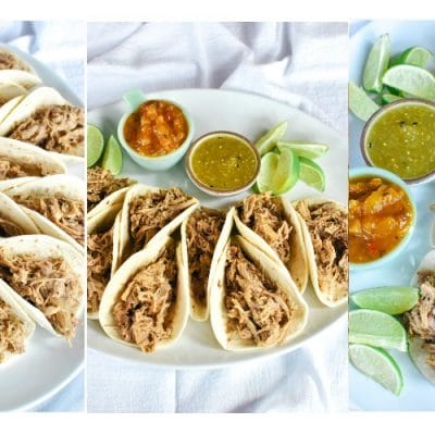 Quick & Easy Pulled Pork Tacos
