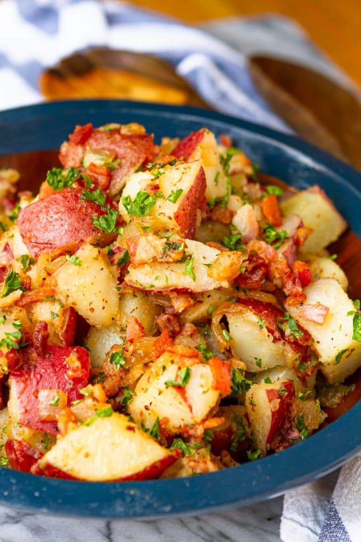 Old-Fashioned Hot German Potato Salad Recipe – Unsophisticook