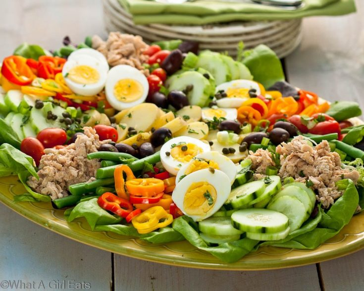 Nicoise Salad, A Classic Composed Salad {Salade Niçoise}