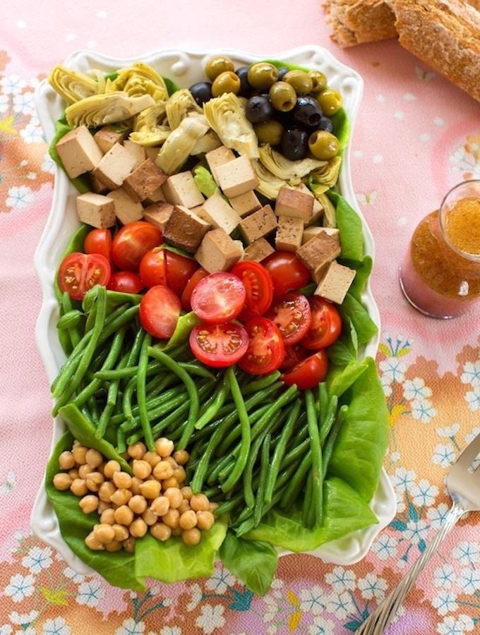 Vegan Niçoise-Style Salad