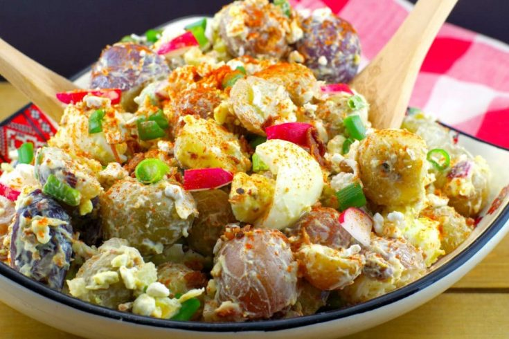 Perogy Potato Salad (gluten-free)