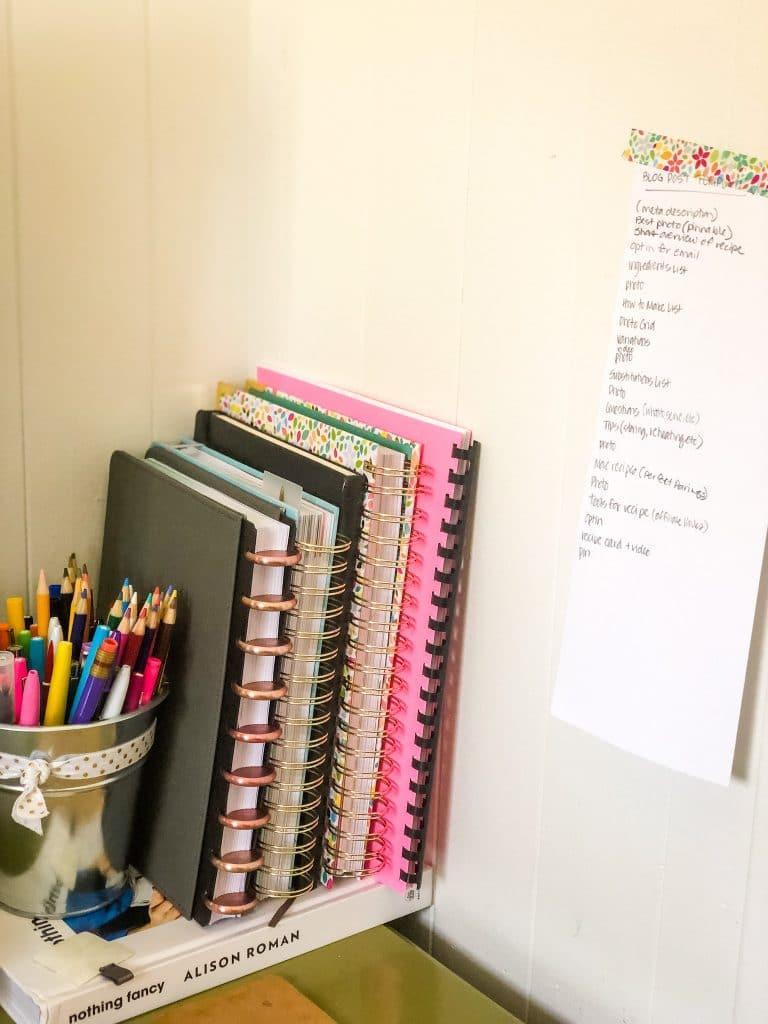 Planners for a Blogger