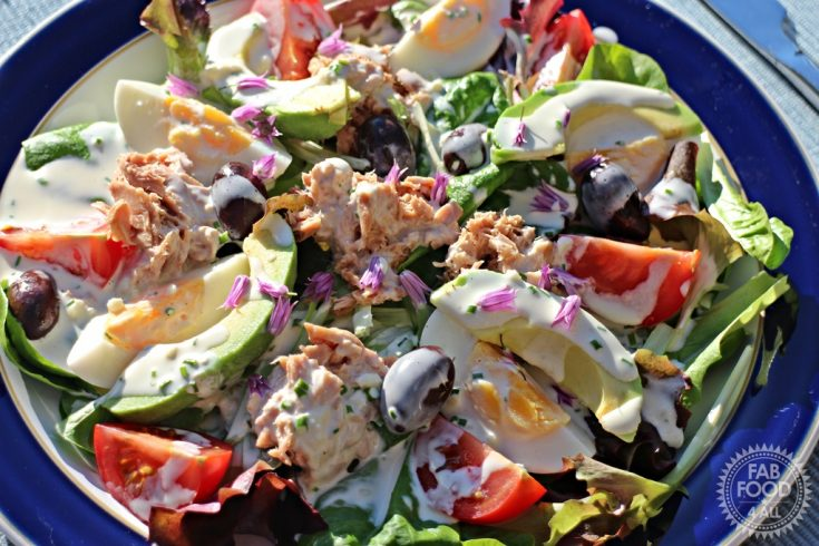 Quick Nicoise Style Salad - a fab summer salad!