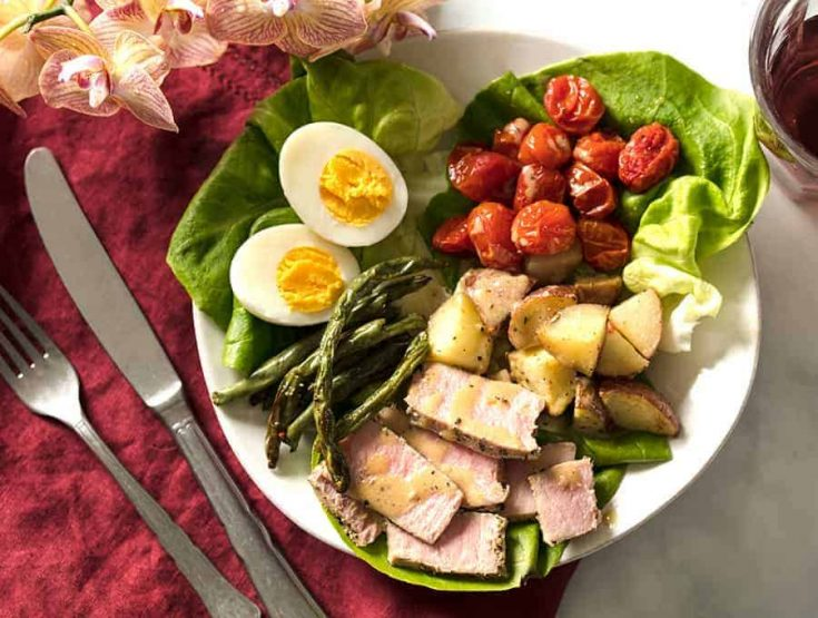 Salade Niçoise| Simple and Delicious Air Fryer Salade Niçoise Recipe