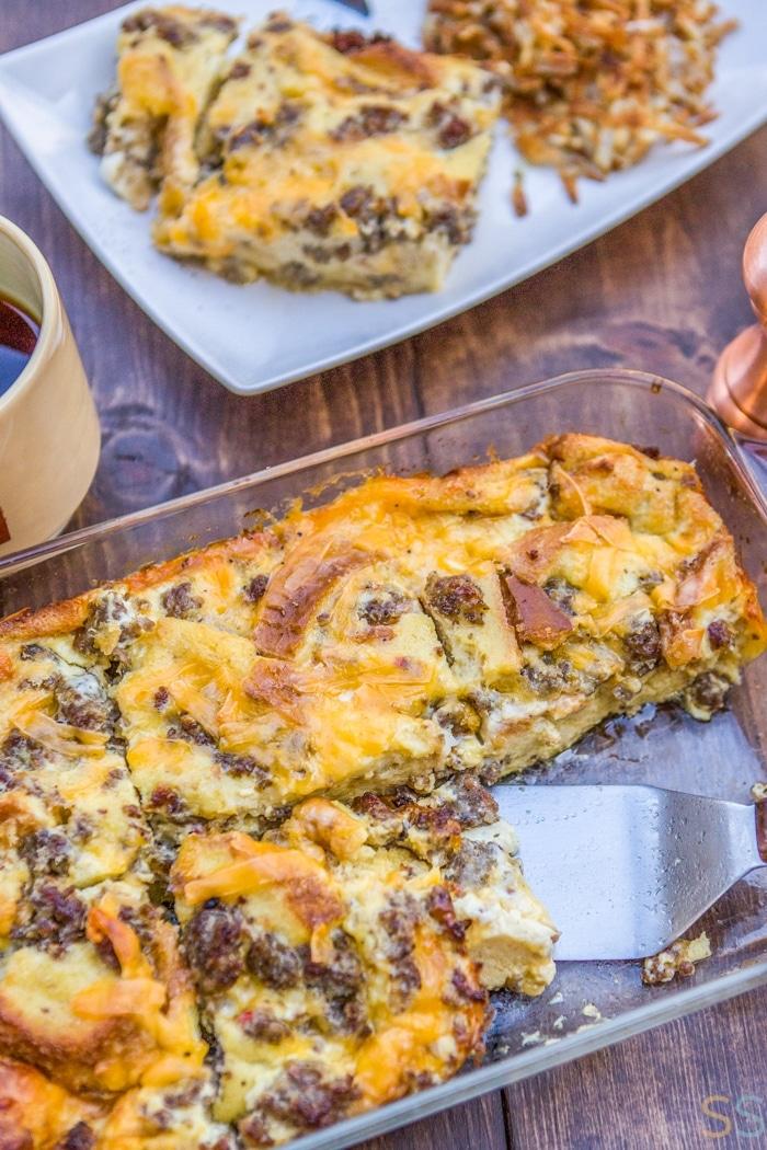 Sausage Breakfast Casserole Recipe