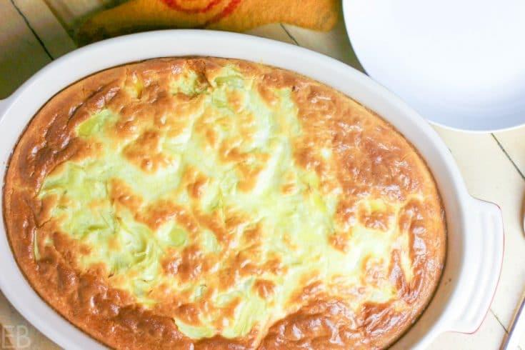 Artichoke Feta Breakfast Casserole {Keto, Paleo/Primal, GAPS}