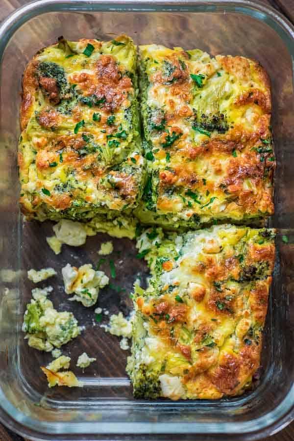 Breakfast Broccoli Bake