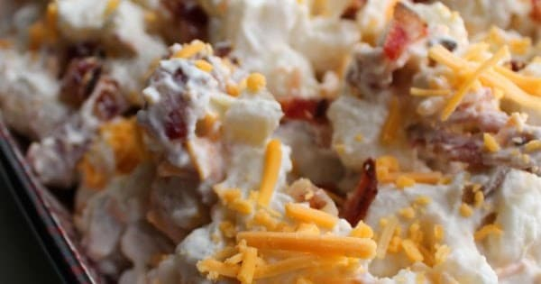 Bacon Cheddar Ranch Potato Salad