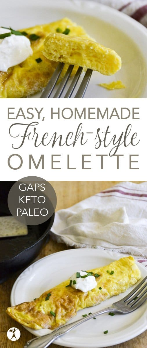 Easy French Style Omelette