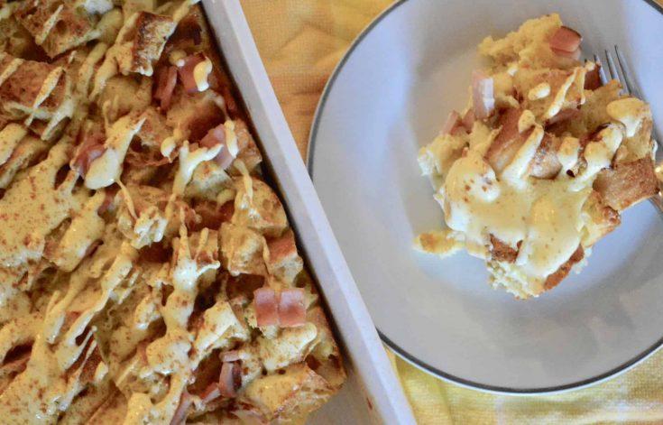 Eggs Benedict Casserole | Hollandaise Sauce