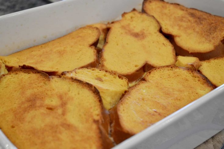 Creme Brûlée French Toast | Overnight Breakfast