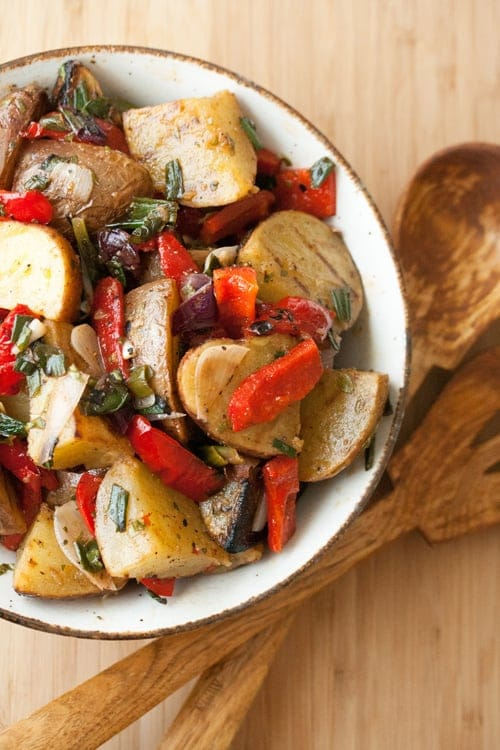 Grilled Potato Salad - Crumb: A Food Blog