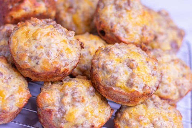 SAUSAGE AND EGG MUFFINS - Parsley Thyme & Limoncello