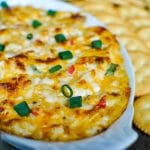 sweetpea lifestyle's chicken and pimento cheese dip