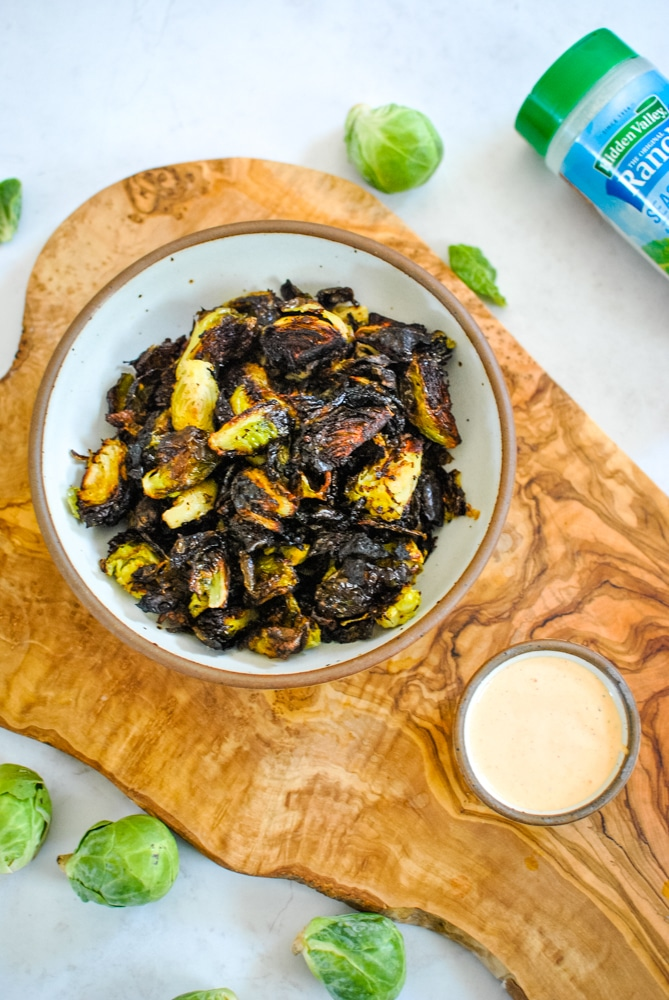 Crispy Ranch Brussel Sprouts