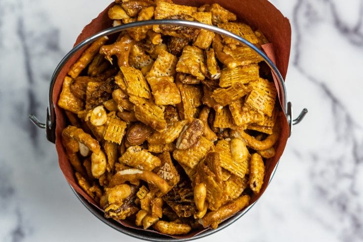 Smoked Chex Mix - SO Good It Should Be Illegal