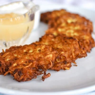 Easy Potato Latke Recipe