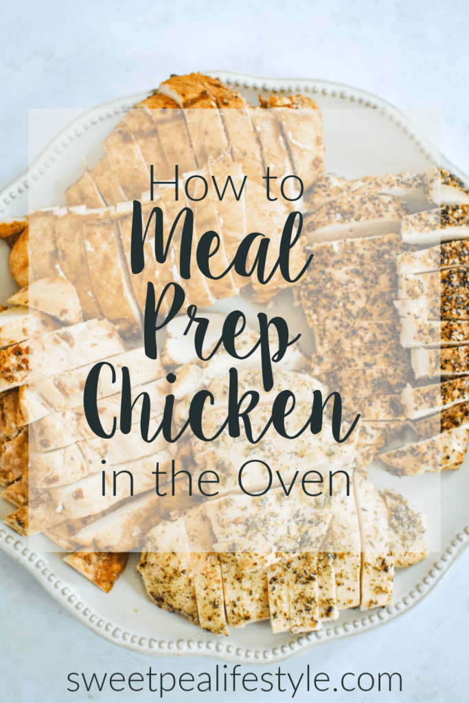 How to Meal Prep Chicken in the Oven