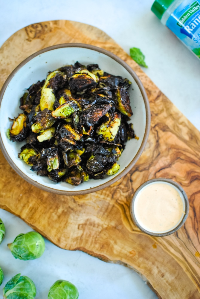 Ranch Brussels Sprouts