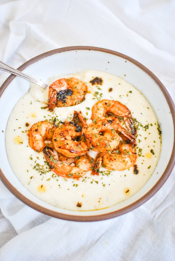 Shrimp and Grits in under half an hour