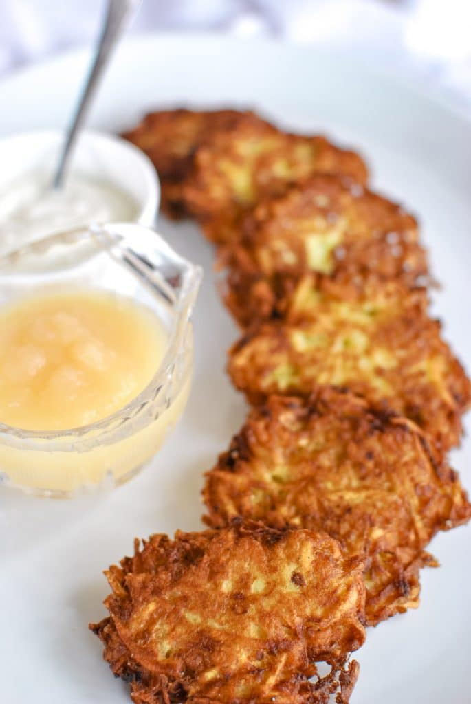 The best and crispiest latkes