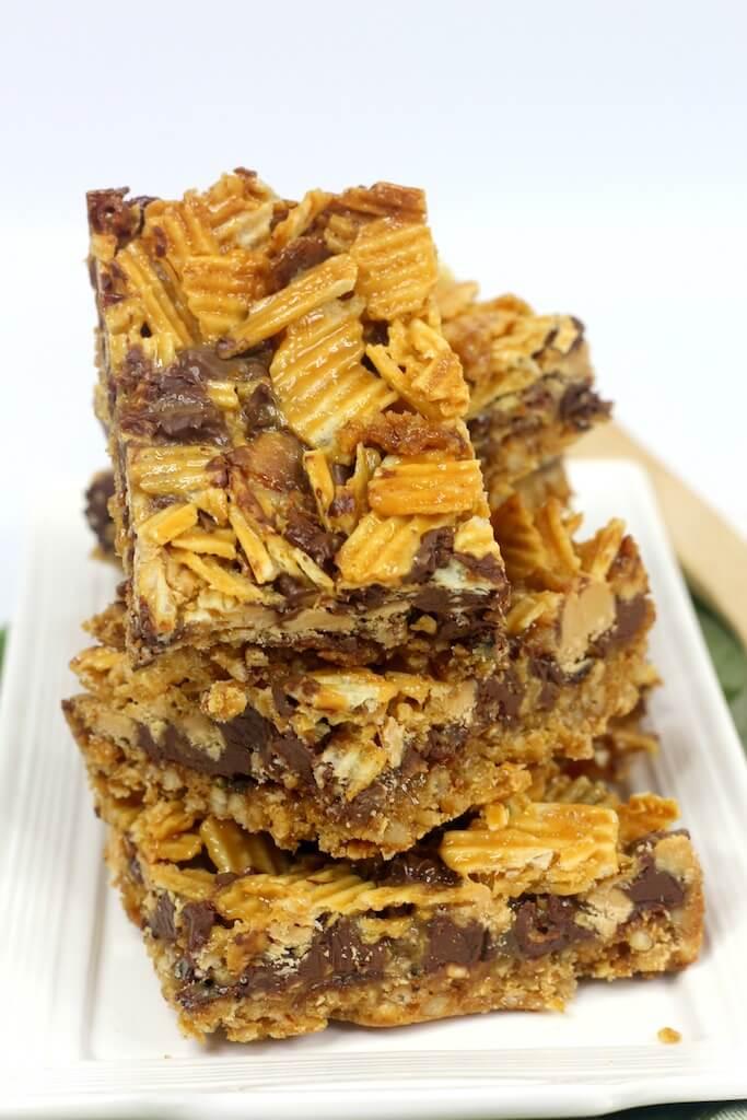 Bacon Potato Chip Brownies: Hump Day Brownies