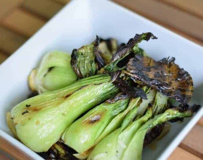 Simple Grilled Baby Bok Choy Recipe