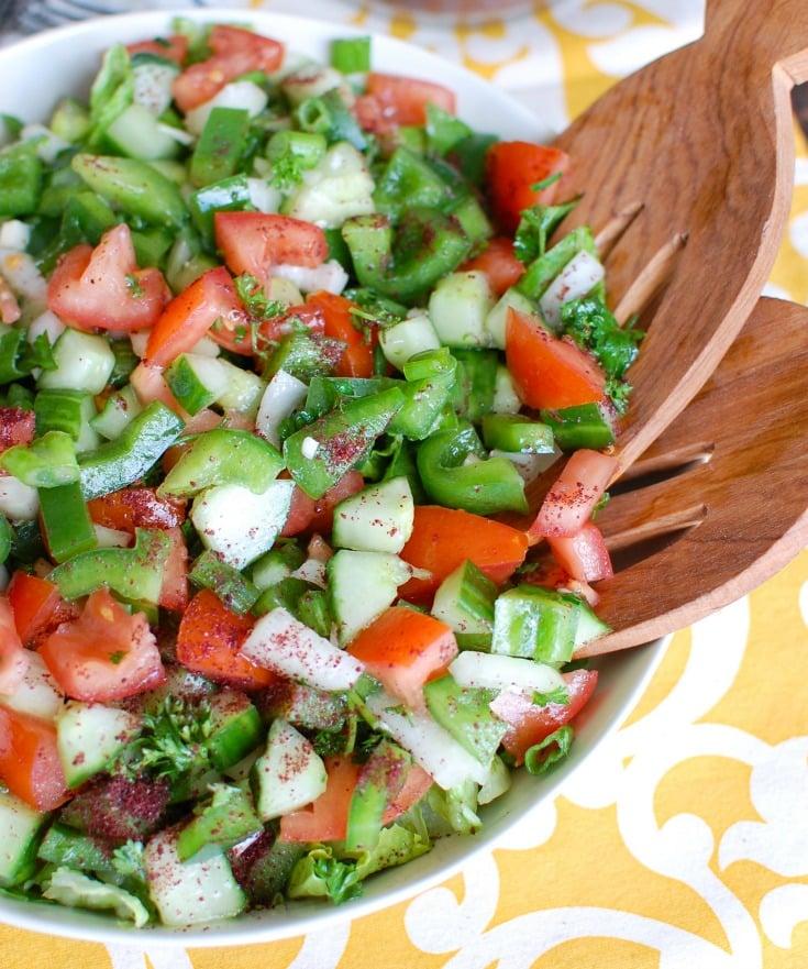 Easy Lebanese Salad