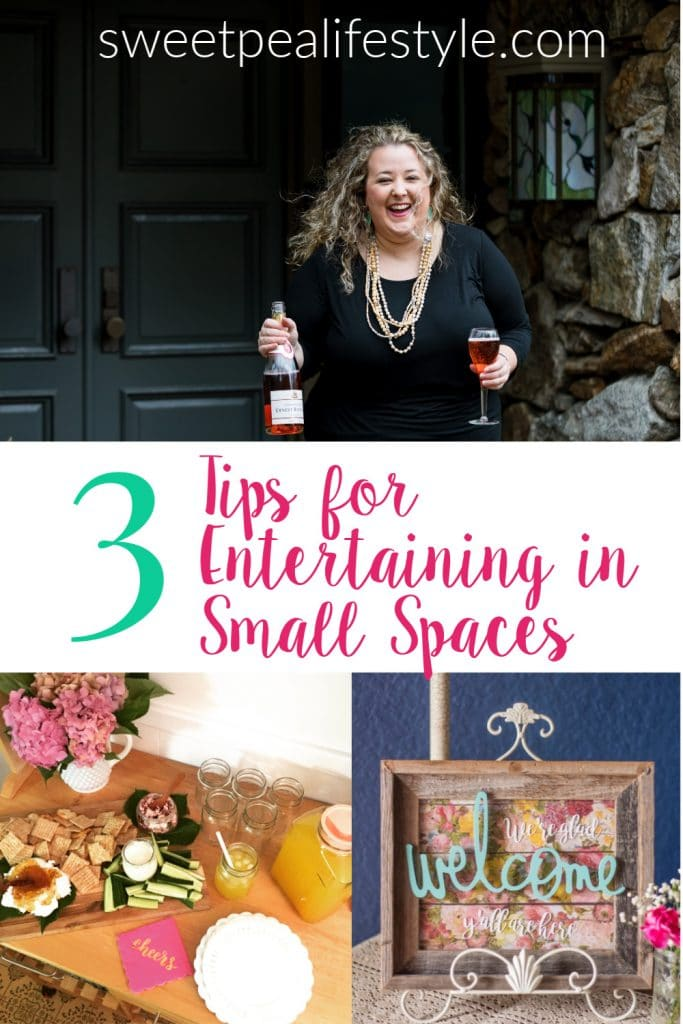 How to Entertain in Small Spaces