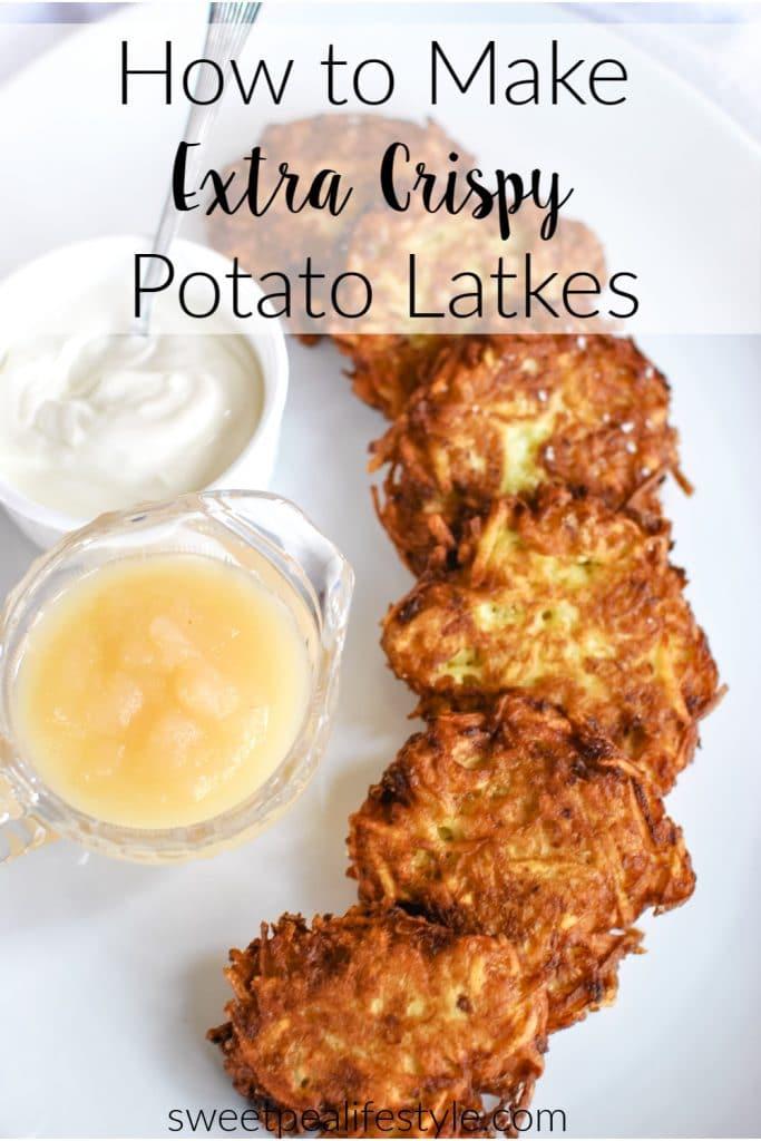 How to Make Potato Latkes from Sweetpea Lifestyle