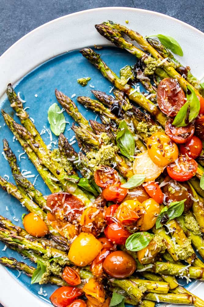 Balsamic Oven Roasted Asparagus Recipe