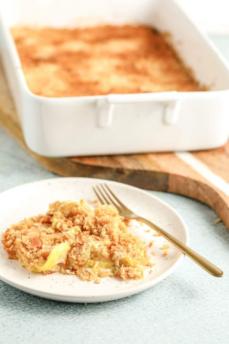 Easy Southern Squash Casserole
