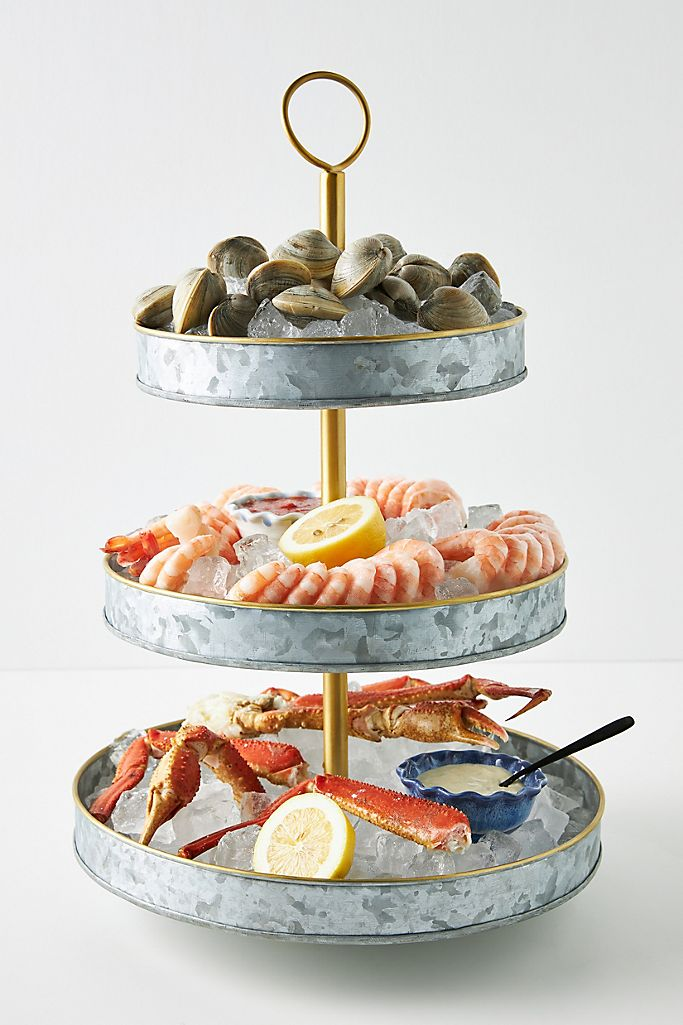 Seafood Tower from Anthropologie