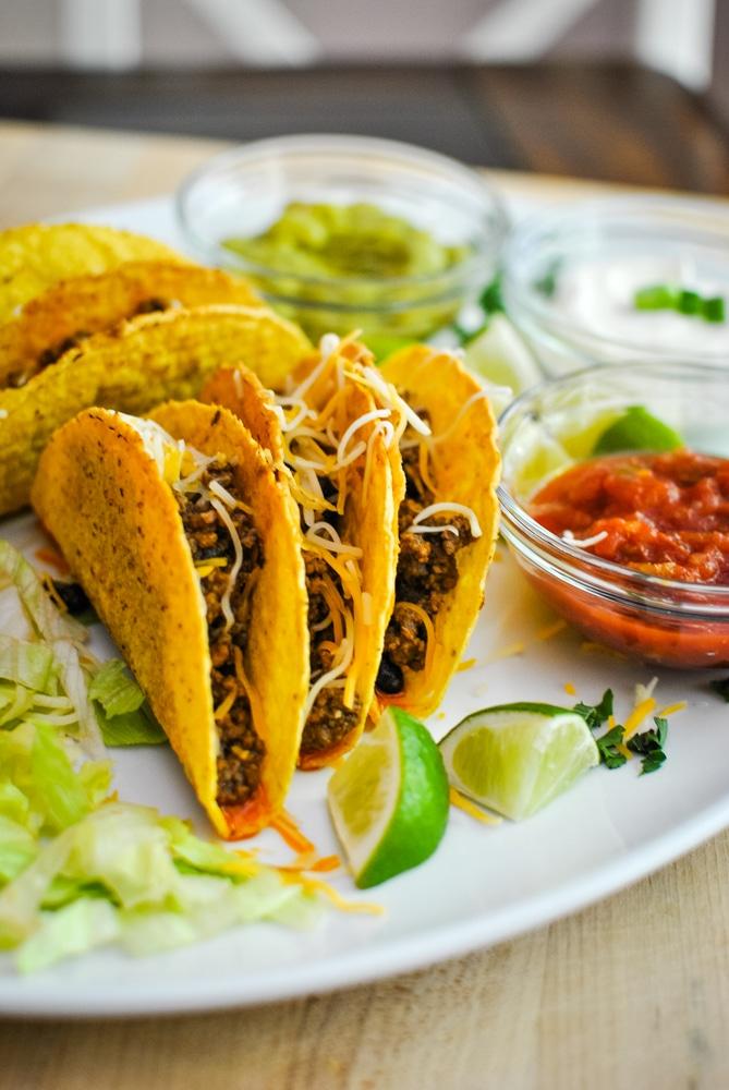 Crunchy taco Platter