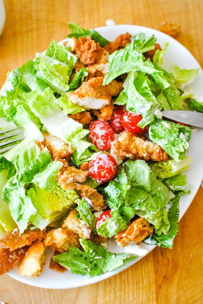 Cutup Wedge Salad