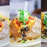 Taco Stuffed Sweet Potato Cover
