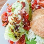 Iceberg Wedge Salad with Green Goddess Dressing