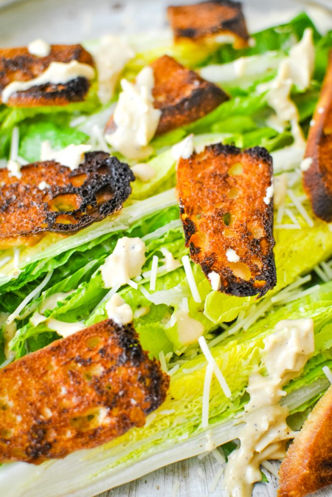 Caesar Wedge Salad For a Crowd