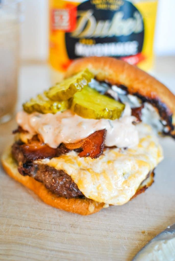 Duke's Mayo Hamburger Recipe
