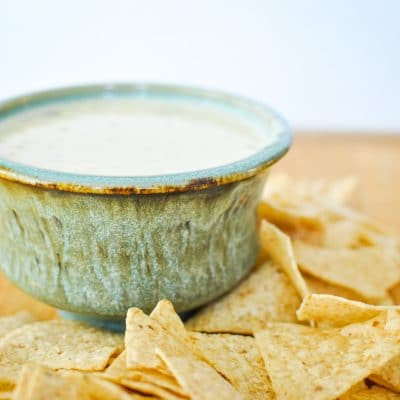 Quick & Easy White Queso Dip