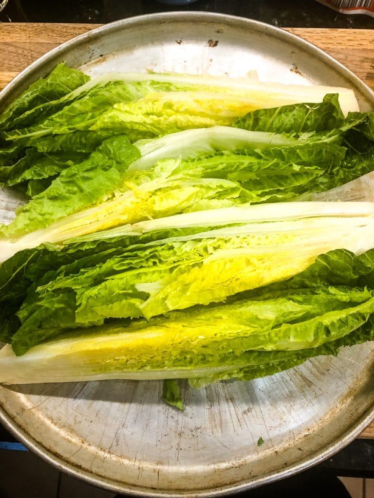 romaine lettuce wedge